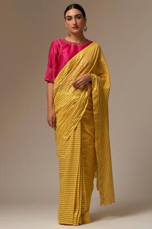 yellow cotton sarees set