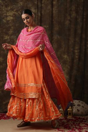 orange  Ambika Salwar suit