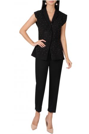 Black blazer & pants set