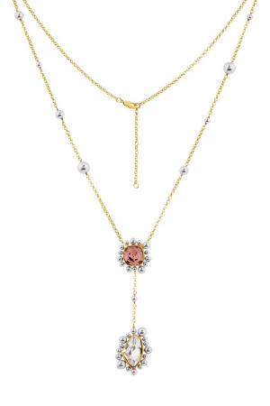 ISHARYA-Desert Pearl Long Pendant