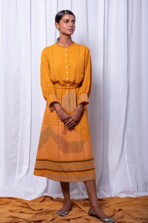 Soni elastic waist dress