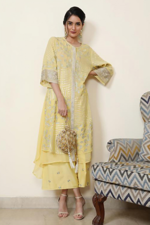 Double layer tunic with farshi