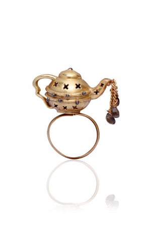 Dripping Teapot ring