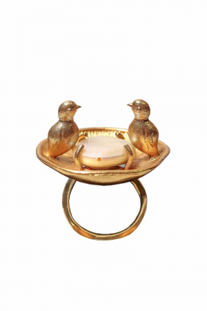 Birds in pond Ring