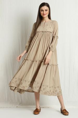 noah pleated dress