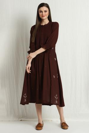 hayley pleated dress