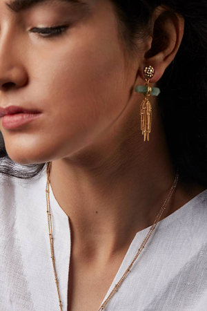 Ellora Waterfall Earrings
