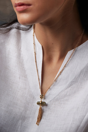 Ellora Waterfall Necklace