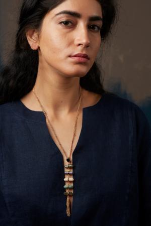 Ajanta Waterfall Necklace