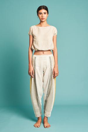 ivory Naoki Stripe Pants