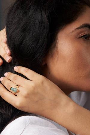 Ajanta Cuff Ring