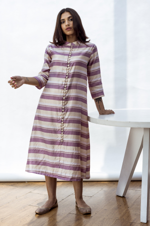 Sarah straight kurta with front opening