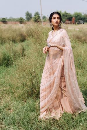 Drape saree set