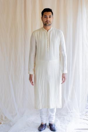 ivory white nawab kurta