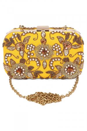 Yellow Gypsy clutch