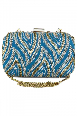 Teal Delight Clutch