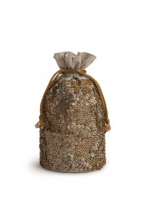 Sequin blast potli bag