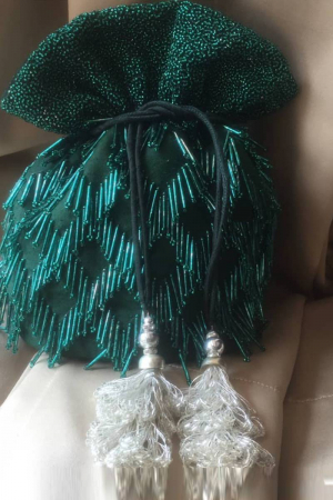 Emerald Green Potli Bag