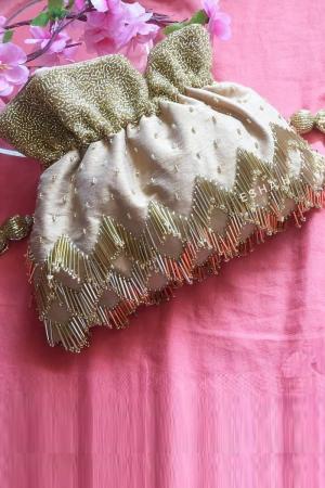 Gold / Beige Potli Bag