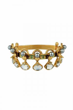 AMRAPALI- Baroque Raindrop Bracelet