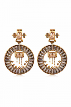 AMRAPALI- Baroque Grandeur Earrings