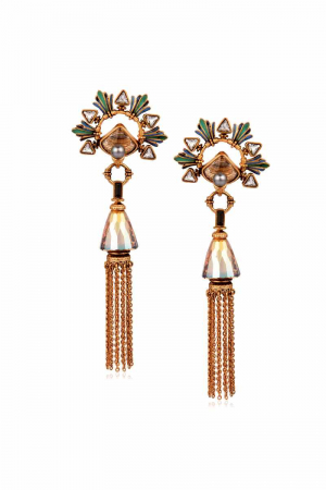 AMRAPALI- Baroque Tassel Earrings