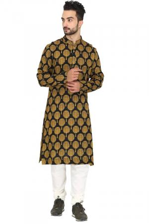 Mughal tree print kurta set