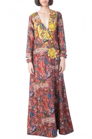Gul printed kaftan dress